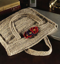 CHIC & Classy Laptop Bag/Tote/Crochet Pattern INSTRUCTIONS ONLY