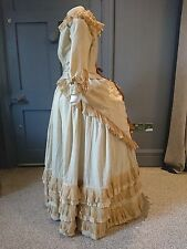 1870s / 1880s Bustle Dress Altered For The Theatre - Victorian Antique Fashion