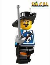 LEGO MINIFIGURES SERIES 4 8804 Musketeer