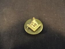 Brass Free Mason Masonic Labor Muscle Arm Lapel Pin Jewelry