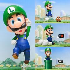 Nendoroid World of Nintendo Super Mario Brothers Luigi Mario Action Figur 11cm