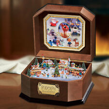 Rudolph the Red Nosed Reindeer Music Box  Bradford Exchange