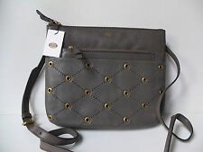 Fossil Tessa lead messenger bag  new with tags