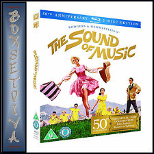 THE SOUND OF MUSIC - 50TH ANNIVERSARY EDITION **BRAND NEW BLU-RAY**
