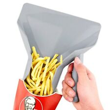 Comerical Plastic Chips Scoop Food French Fries Shovel w/Right handle Fry Scoop
