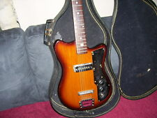 Vintage 6 string electric guitar made in Japan W/ Case ( no reserve )