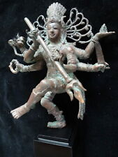 Cern Shiva Nataraja God Dancing Bronze Brass Mix Statue Spirit Hindu Meditation