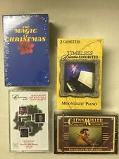 CASSETTE TAPE Lot Christmas Bing Crosby, Nat King Cole, Dean Martin Glenn Miller
