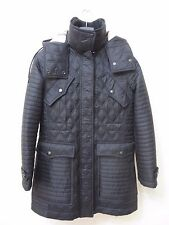 NEW  BURBERRY BRIT Women Bosworth Quilted Patchwork Coat Size S MSRP $ 895.00