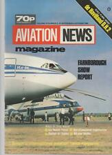AVIATION NEWS MODEL MAGAZINE V13 N9 FARNBOROUGH SHOW REPORT, ICE WATCH PATROL,
