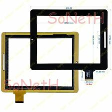 "Vetro Touch screen Digitizer 9,7"" Onda Vi40 Elite 300-L3611A-A00-V1.0 Nero"