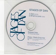 (DV521) Stages of Dan, Gary / What is Love - 2010 DJ CD