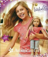Brand New American Girl Meet GOTY Isabelle January 2014 Catalog Catalogue