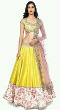 SevenFold Best Selling Yellow Fog  Lehnga Choli for girl women