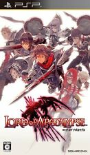 Used PSP Lord of Apocalypse Japan Import ((Free shipping))