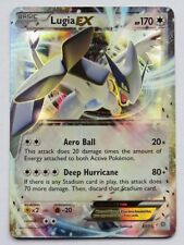 Lugia EX 68/98 XY origini antiche-ULTRA RARA Pokemon Card