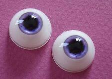 1 paire yeux 20mm FE3 violet poupée MODERNE/Vintage-BJD Artist doll eyes