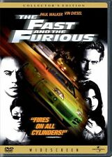LOT OF 2 DVD WIDESCREENS; 2 Fast 2 Furious DVD+The Fast and The Furious DVD