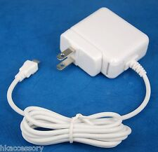 5V 1A AC Wall Charger US Plug WHITE for Sony PRS-T3 T2 T1 950 650 350 eReader