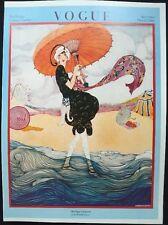 Vintage Vogue Magazine Poster July 1st, 1919 Authorised 1970's Reprint 39x28cm10