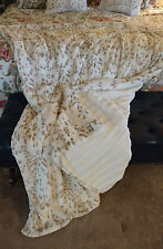 KVH by Kelly Van Halen Snow Leopard/Ivory Minky Faux Fur Sofa Throw Blanket NEW!