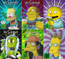 DIE SIMPSONS - komplette Staffel Season 11+12+13+14+15+16 NEU OVP 24 DVDs Anime