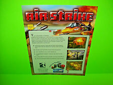 Tsunami AIR STRIKE 2002 Original NOS Video Arcade Game Promo Sales Flyer Vers #2