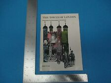 Vintage 1980 55-pg The Tower of London Dept of Environment Guide Booklet, S1097