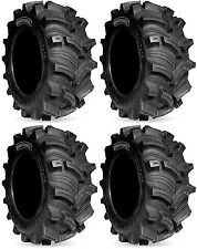 Four 4 Kenda Executioner ATV Tires Set 2 Front 27x10-12 & 2 Rear 27x10-12 K538