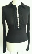 BLack hook front top size s