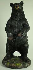 BLACK BEAR STANDING FIGURE Statue Cub NEW Wildlife Brown Grizzly Polar Resin Art