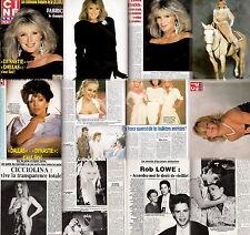 Cine Revue Rob Lowe,Meg Ryan,Linda Evans,Ilona Staller,Joan Collins,Donna Mills,