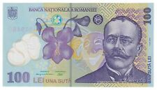 UNC 100 lei 2005 [2015 series] polymer [plastic] banknote / Romania