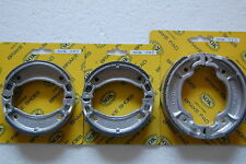 FRONT REAR BRAKE SHOES YAMAHA YFM 80 125, 92-01 YFM80 Badger, 92-04 YFA1 Breeze