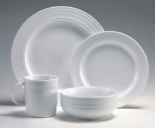 Lagostina Firenze High Quality Pure white Porcelain 16PC Set paypal