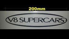 v8 supercars sticker car/trucks/ute windshields 200mm = 1pc