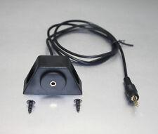 APS 3.5 mm Aux Input Dash Mount Kit with 100cm long Cable for iPod Mp3 AUX-EC