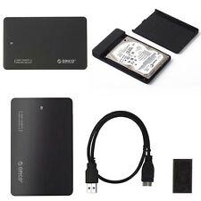USB 3.0 Hard Drive External Enclosure 2.5inch SATA HDD Mobile Disk Box Case CA