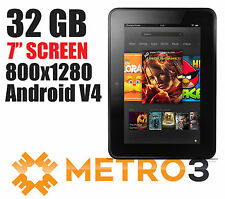 "NEW Amazon Kindle Fire HD Dual-Core 1GB 32GB 7"" Touchscreen Tablet eReader"