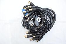 SL001 12 channel balanced XLR 3m multicore loom NEW