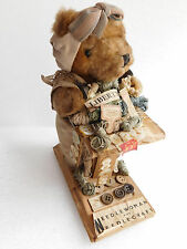 Vintage teddy bear shop counter display Liberty 1940s 1950s buttons advertising