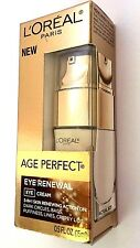 L'OREAL AGE PERFECT EYE RENEWAL EYE CREAM 0.5 OZ