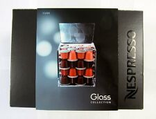 "New Nespresso ""Glass Collection"" CUBE Coffee Capsules HOLDER"