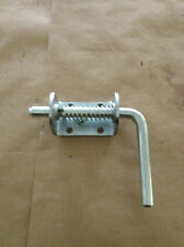 BANDIT WOOD CHIPPER WELD ON SPRING LOADED PIN LATCH FOR INFEED HOPPER AND CHUTE