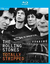 THE ROLLING STONES - TOTALLY STRIPPED   BLU-RAY NEW+