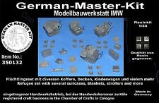 350132, flüchtlingsset, 1:35 resin, diorama accesorios, gmkt World of War II