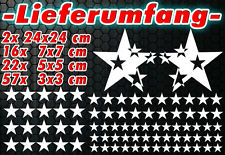 97 Sterne Star Auto Aufkleber Set Sticker Tuning Shirt Stylin WandtattooTribel b