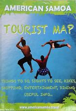 NEW '12 TOURIST MAP, AMERICAN SAMOA, Plus '14 Nat'l.PkServiceMap~WithDetail Maps