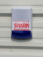 SOLAR DUMMY HOUSE FAKE BELL ALARM BOX FLASHING LIGHT - SOLAR POWERED
