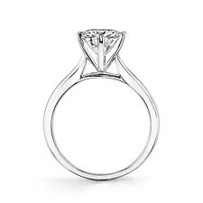 WOMENS  14K WHITE GOLD MOISSANITE RING SZ 8 MORE SPARKLE THAN A DIAMOND! 1.75CTW